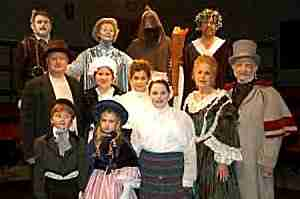 A CHRISTMAS CAROL - Tyler Civic Theatre (Texas)