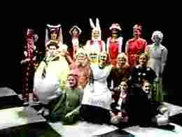 ALICE IN WONDERLAND Cast - Tyler Civic Theatre (Texas)