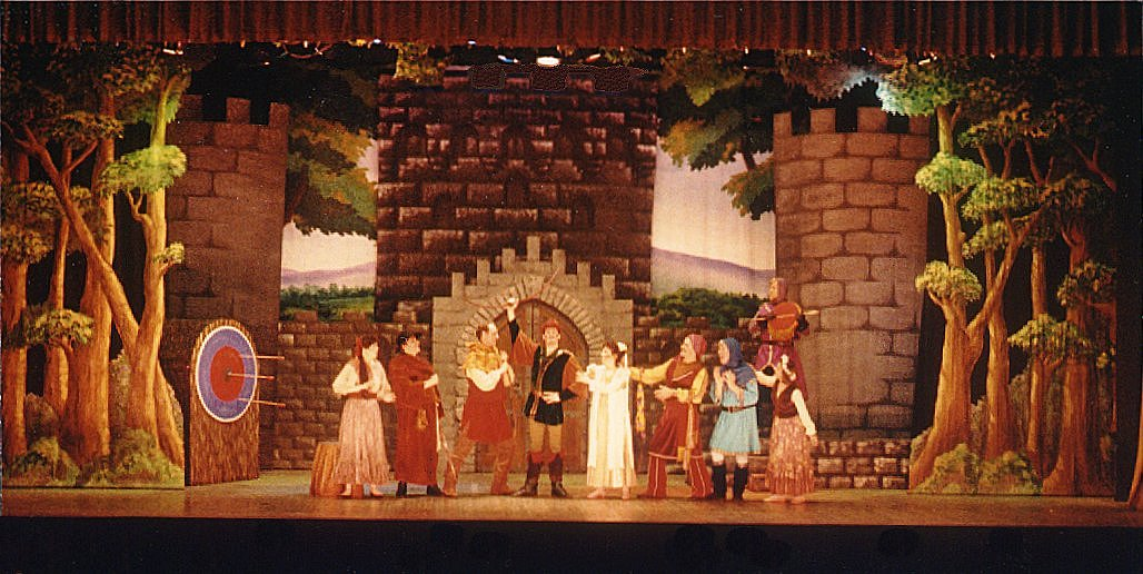 THE ADVENTURES of ROBIN HOOD production photo - Classics On Stage! (Chicago)