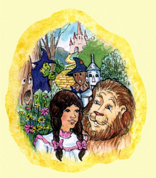 Children's Theatre Play Script - The Wonderful Wizard Of Oz